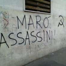 Scritta comparsa a Roma