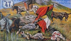 1 maggio Gaetano Porcasi Partinico artista Giacomo Palumbo Portella della Ginestra lavoratori   (1)
