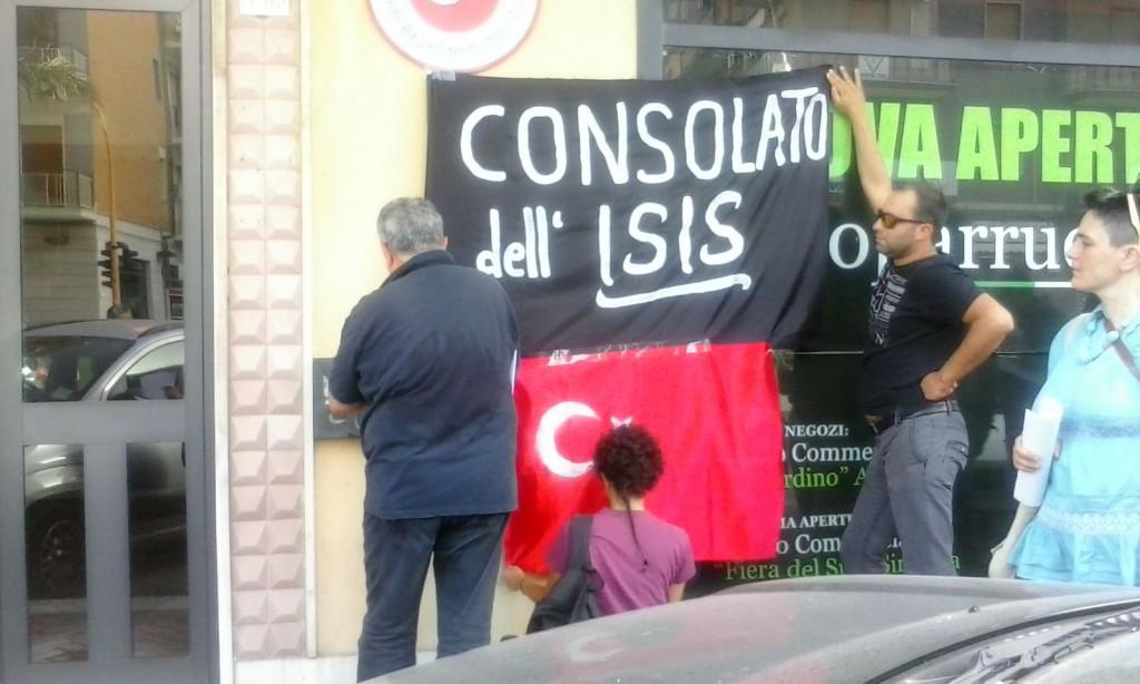 Presidio sotto il consolato turco (SR)