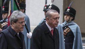 Erdogan Gentiloni Turchia Siria Kurdistan curdi