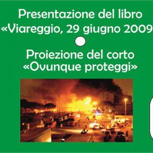 """Presentazione libro a Catania """"Viareggio 29 giugno 2009"""""""